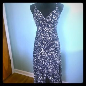 Navy & White Summer Dress